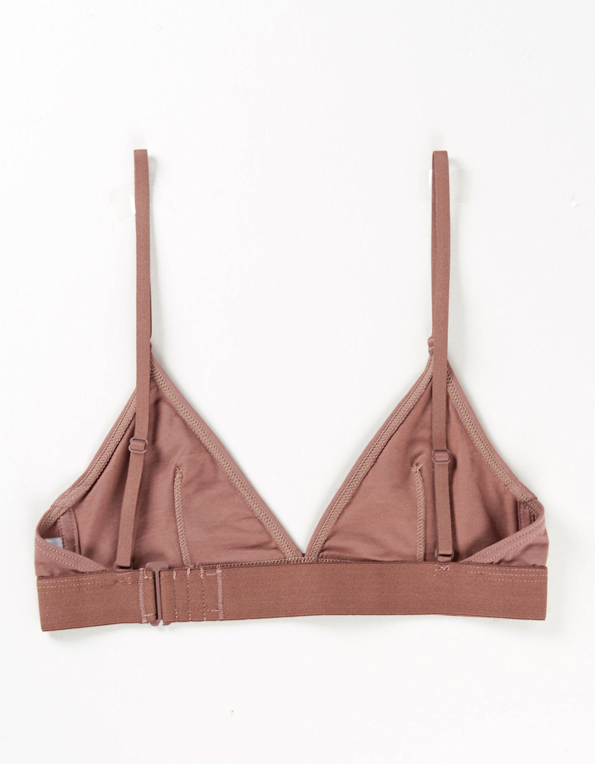 The Nude Label Triangle Bra Taupe - Still Life - 2