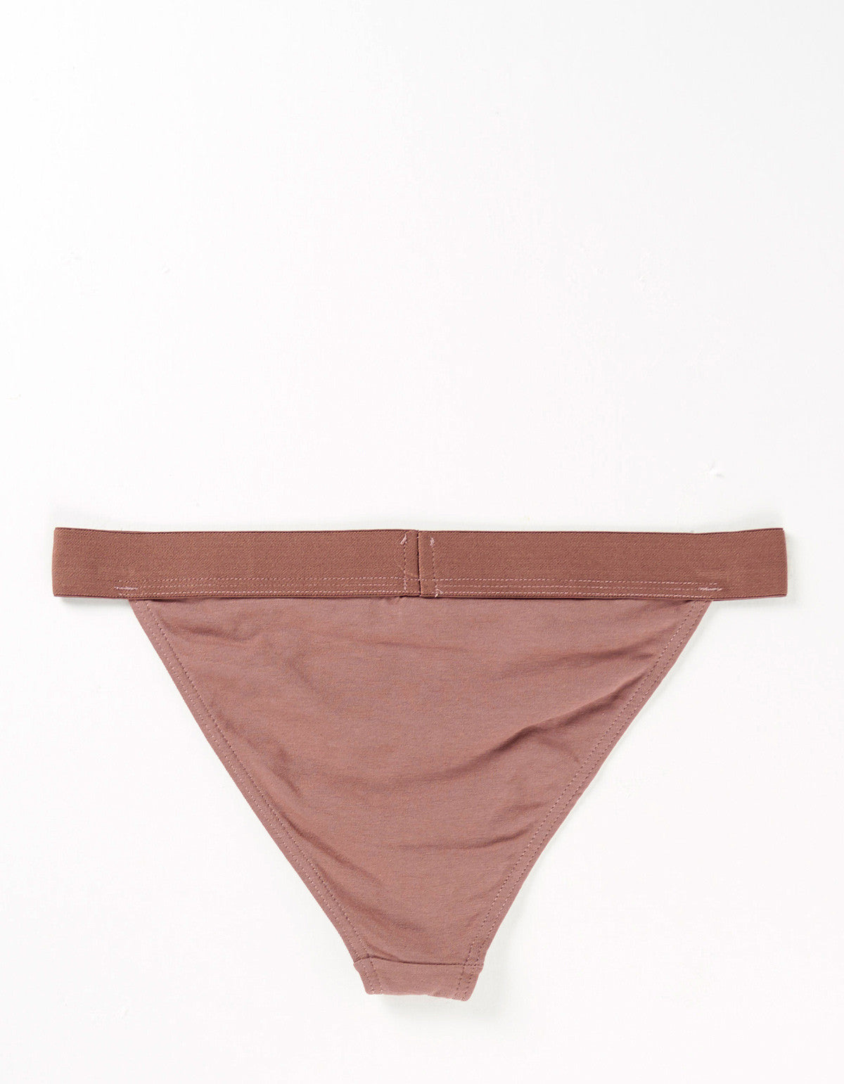 The Nude Label Triangle Brief Taupe - Still Life - 2