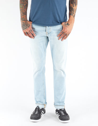 Nudie Dude Dan Bright Horizon Washed Indigo