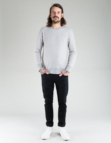 Nudie Evert Light Sweatshirt Grey Melange