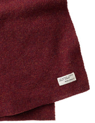 Nudie Liamsson Scarf Burnt Red - Still Life - 2