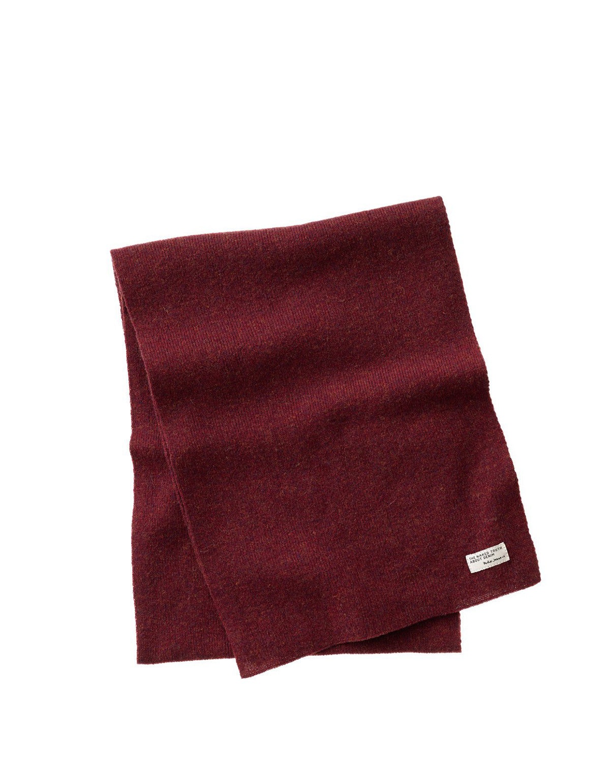 Nudie Liamsson Scarf Burnt Red - Still Life - 1