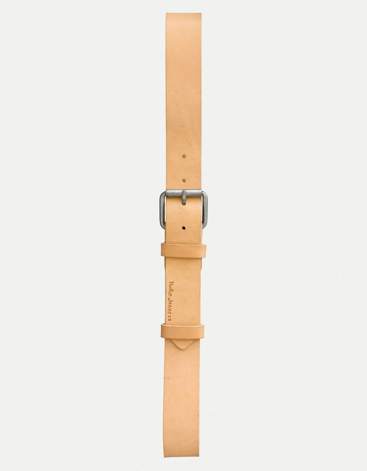 Nudie Pedersson Leather Belt, Natural