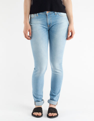 Nudie Skinny Lin Fresh Breeze Washed Indigo