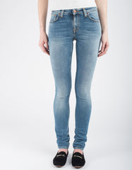 Nudie Skinny Lin Pure Breeze Washed Indigo