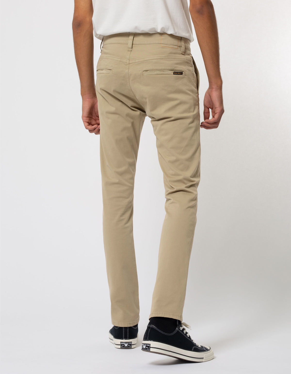 Nudie Slim Adam Chino, Beige