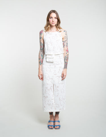 Paloma Wool Genia Skirt Off White
