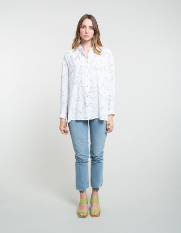 Paloma Wool Leonidas Shirt Off White
