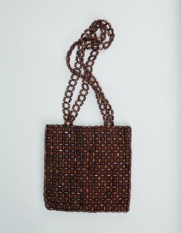 Paloma Wool Natalia Bag Dark Brown