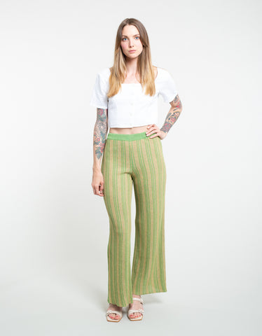 Paloma Wool Querido Pant Medium Green