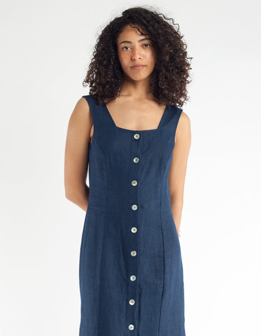 Paloma Wool Flipo Dress Dark Navy