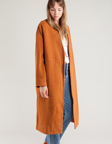 Paloma Wool Julieta Coat Intense Orange