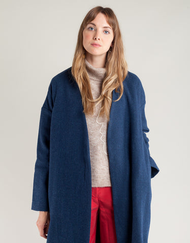 Paloma Wool Julieta Coat Medium Blue