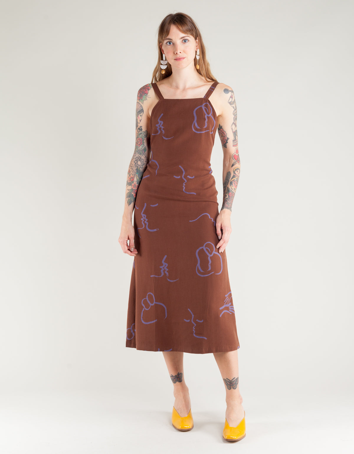 Paloma Wool Lava Dress Brown