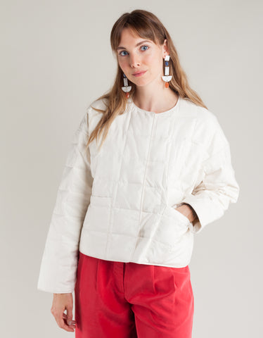 Paloma Wool Mateo Quilted Jacket Off White
