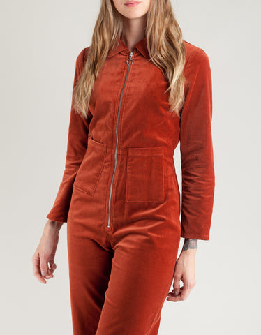 Paloma Wool Paufi Jumpsuit Wine