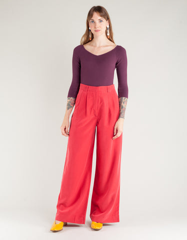 Paloma Wool Tuco Pant Red