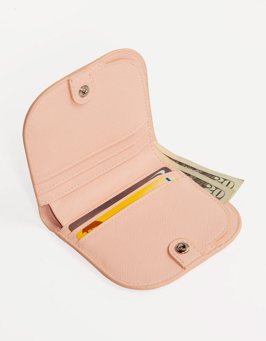 Poketo Dome Wallet in Pink