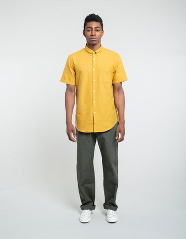 Portuguese Flannel Belavista Short Sleeve Shirt Honey