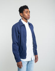 Portuguese Flannel Mini Golf Jacket Navy