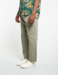 Portuguese Flannel Mini Golf Trousers Olive