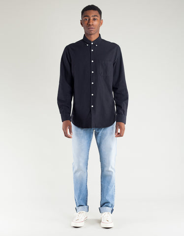 Portuguese Flannel Belavista Long Sleeve Shirt Black