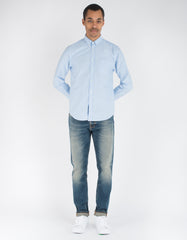 Portuguese Flannel Belavista Shirt Light Blue