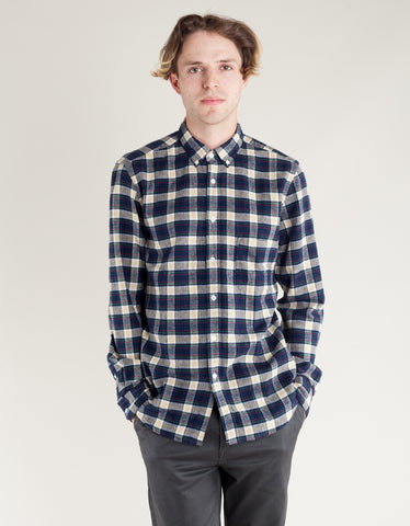 Portuguese Flannel River LS Shirt Plaid