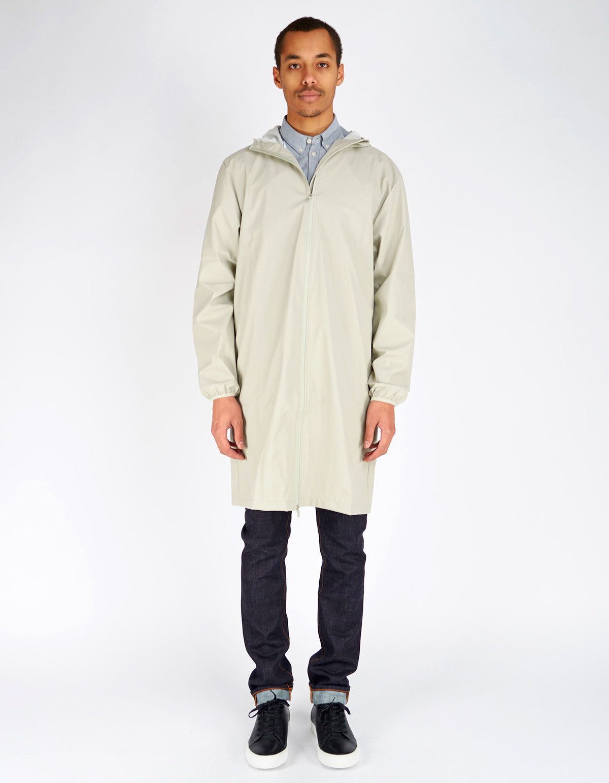 Rains Men's Base Jacket Long Moon - Still Life - 2