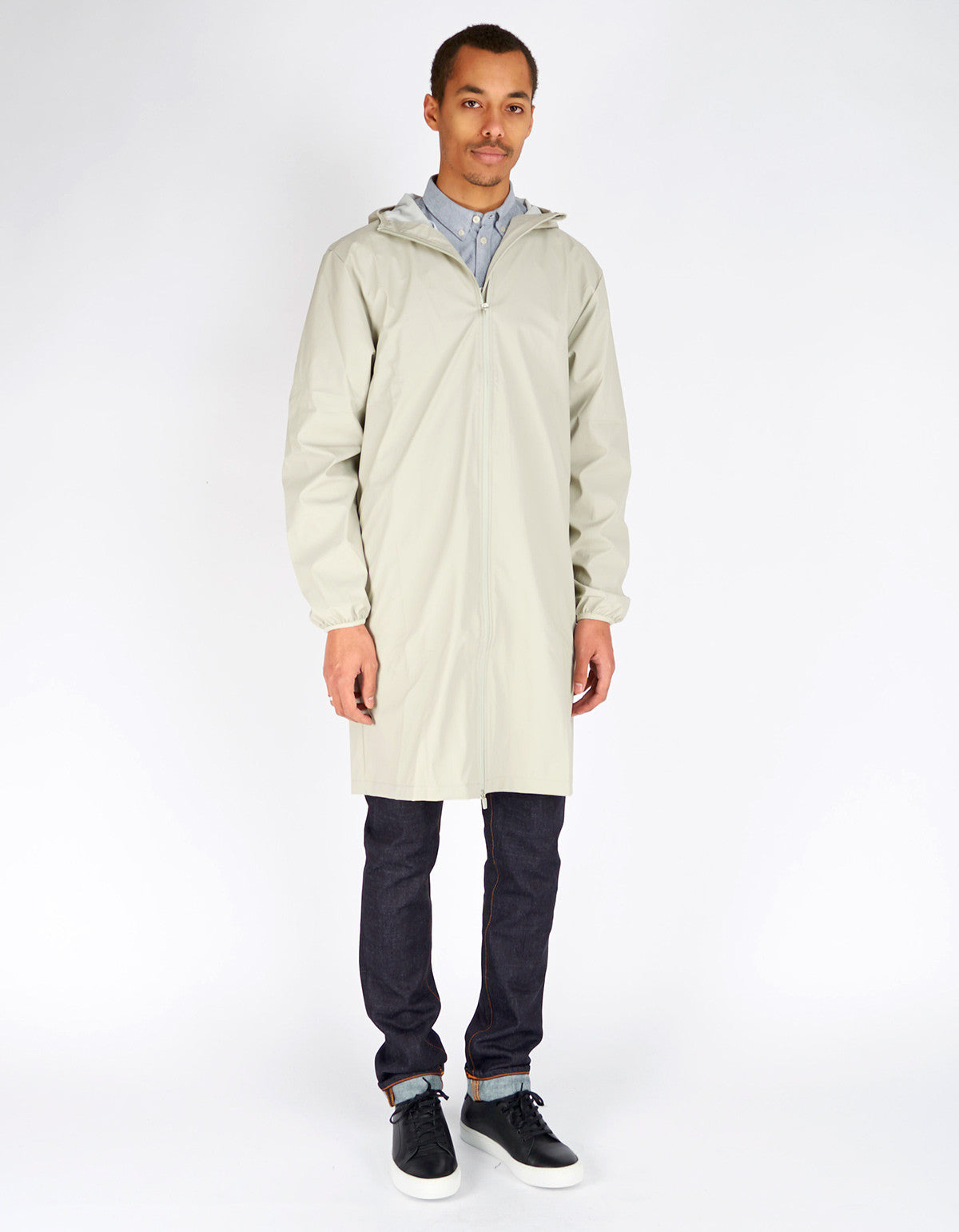 Rains Men's Base Jacket Long Moon - Still Life - 4
