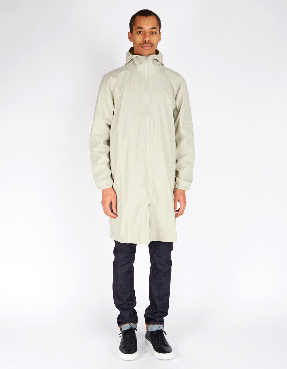 Rains Men's Base Jacket Long Moon - Still Life - 1