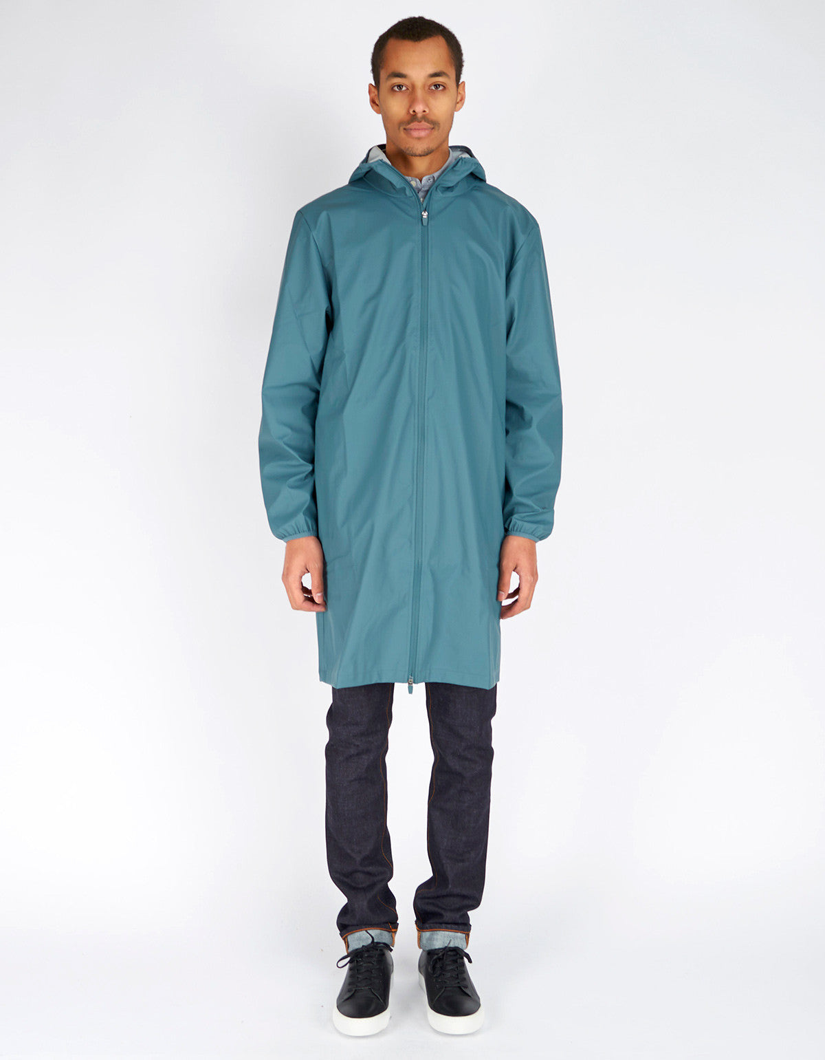 Rains Men's Base Jacket Long Pacific - Still Life - 1