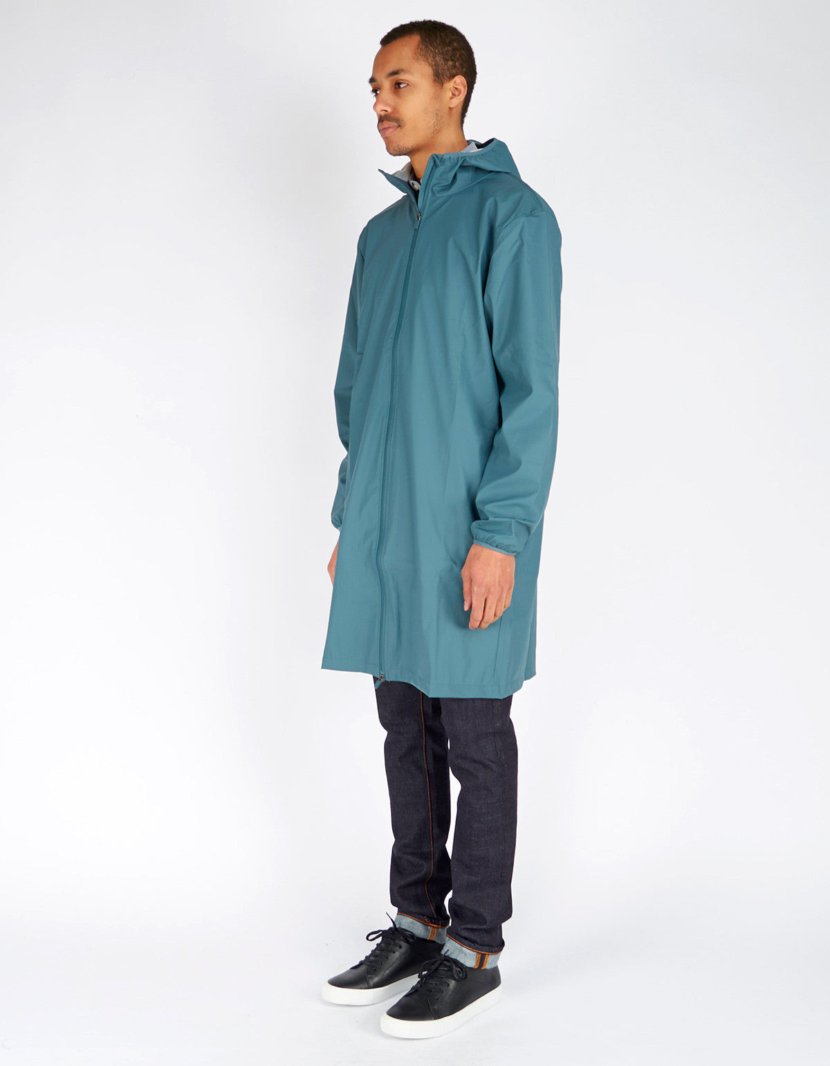 Rains Men's Base Jacket Long Pacific - Still Life - 2