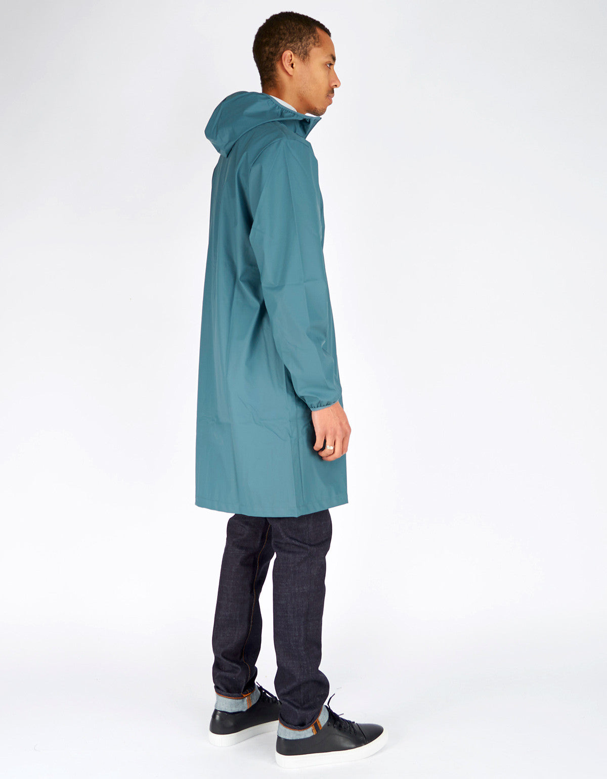 Rains Men's Base Jacket Long Pacific - Still Life - 4