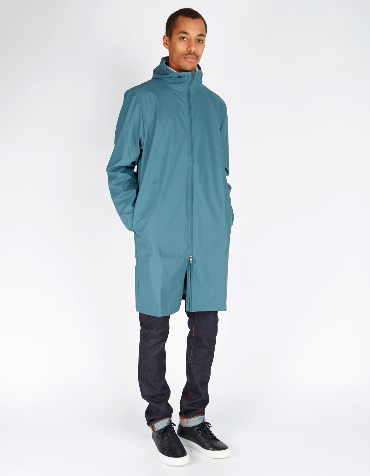 Rains Men's Base Jacket Long Pacific - Still Life - 5