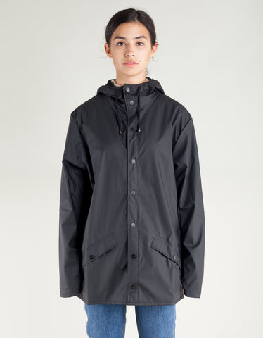 Rains Women's Jacket Black
