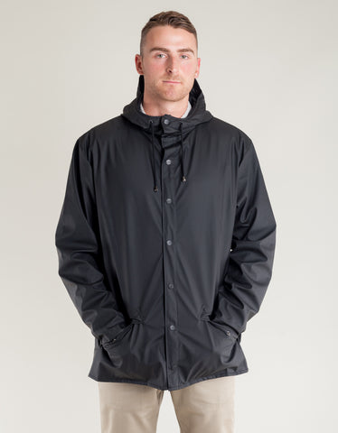 Rains Men's Jacket Men's Black