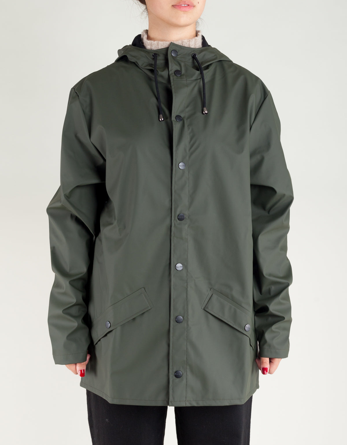 Rains Women's Jacket Green