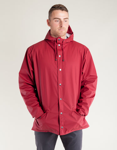 Rains Men's Jacket Scarlet