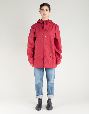Rains Women's Jacket Scarlet