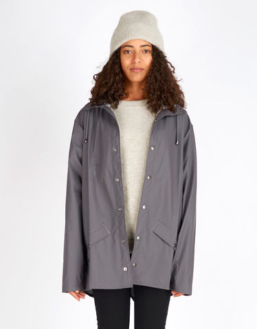 Rains Women's Jacket Smoke - Still Life - 1