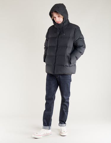Rains Men's Puffer Jacket Black