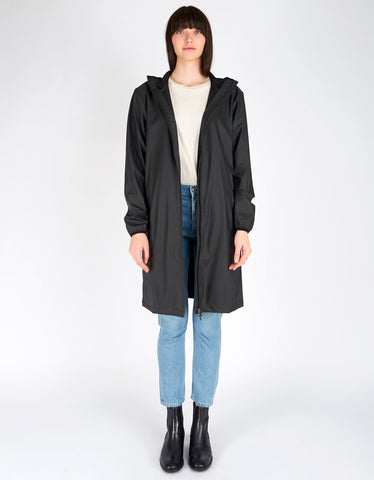 Rains Base Jacket Long Women's Black - Still Life - 2