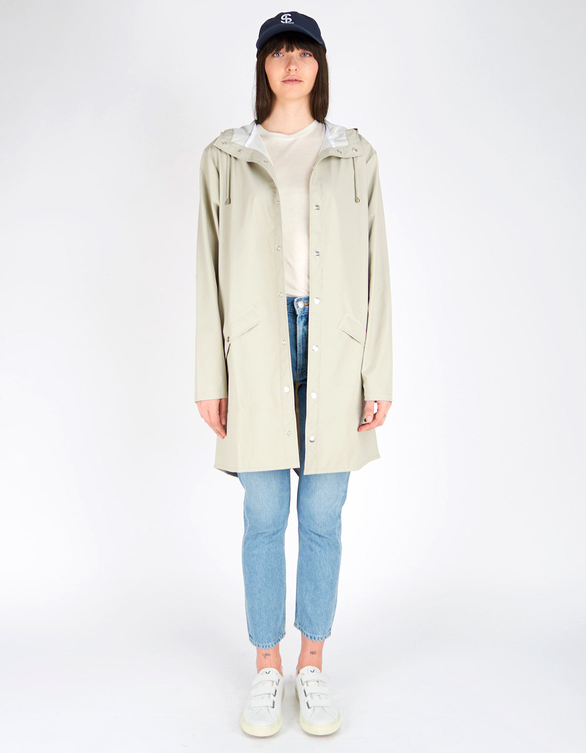 Rains Women's Long Jacket Moon - Still Life - 2