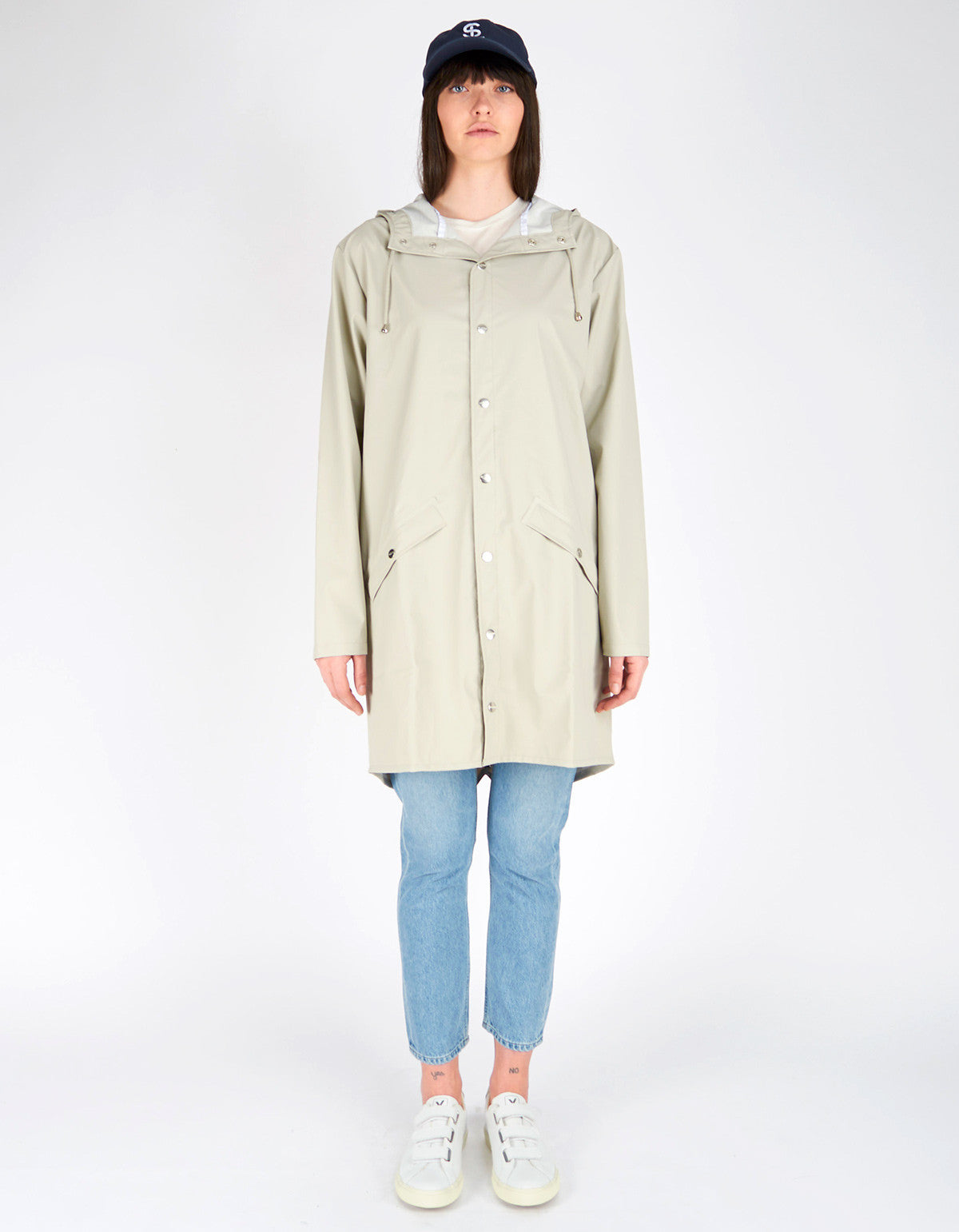 Rains Women's Long Jacket Moon - Still Life - 1