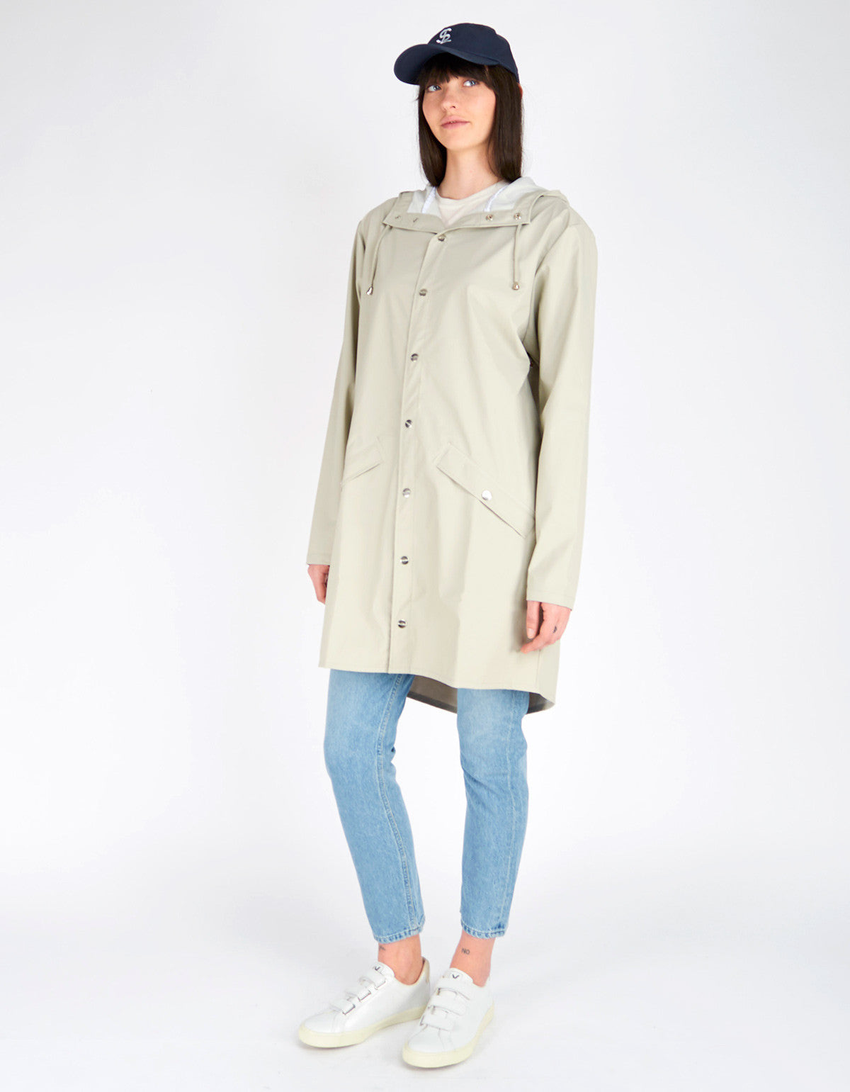 Rains Women's Long Jacket Moon - Still Life - 3