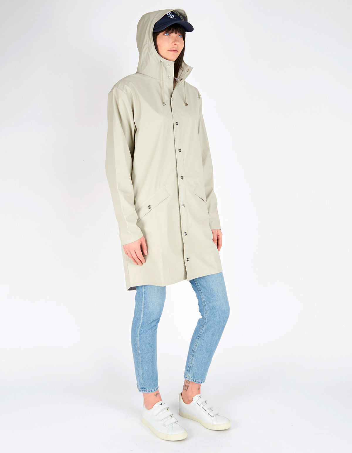 Rains Women's Long Jacket Moon - Still Life - 5