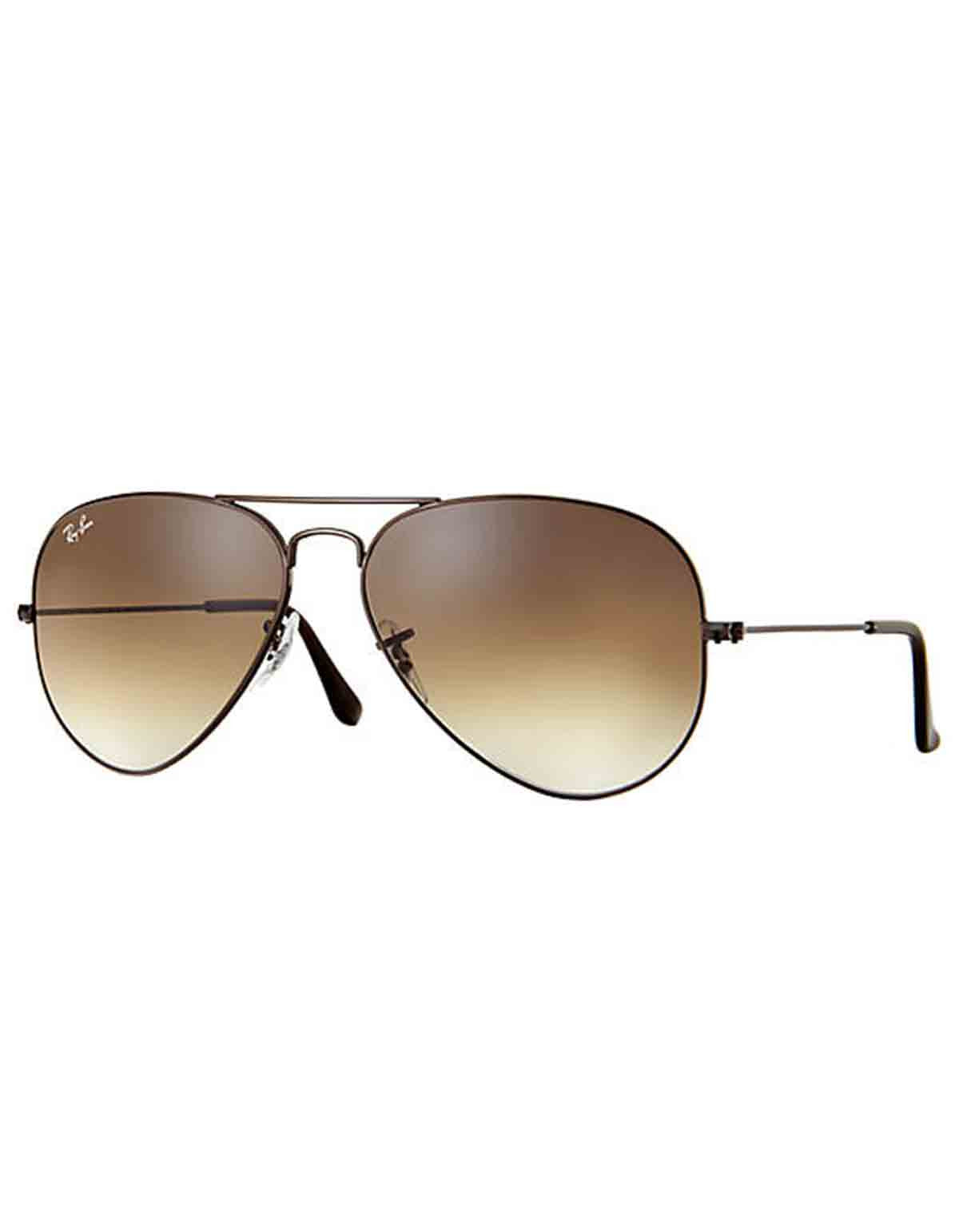 Ray-Ban Injected Sunglasses Light Brown Brown Gradient