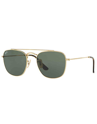 Ray-Ban Metal Sunglasses Gold Green Classic G-15