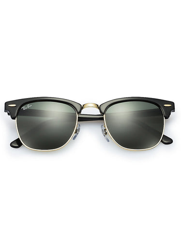 Ray-Ban Clubmaster Sunglasses Ebony Arista - Still Life - 5